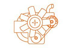 Motor E3AF1, Iseki, TU, Landhope, TU1900, TU1700, TU2100, TL1900, TE3210, TA235, Bolens
