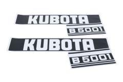 Adhesivos capo conjunto Kubota B5001