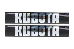Adhesivos capo Kubota B series