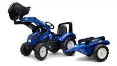 Iseki Tractor de pedales con remolque y cargador frontal 3 A 5 Años