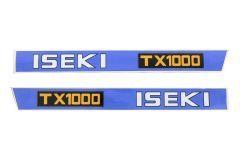 Adhesivos capo conjunto Iseki TX1000