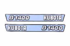 Adhesivos capo conjunto Kubota B1400