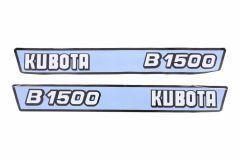 Adhesivos capo conjunto Kubota B1500