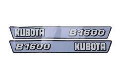 Adhesivos capo conjunto Kubota B1600