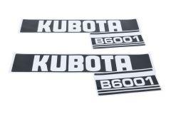 Adhesivos capo conjunto Kubota B6001