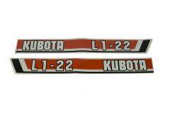 Adhesivos capo Kubota L1-22