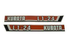 Adhesivos capo Kubota L1-24