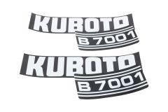 Adhesivos capo Kubota B7001