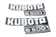 Adhesivos capo Kubota B6001