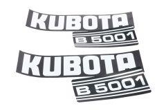 Adhesivos capo Kubota B5001