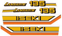 Adhesivos capo conjunto Iseki Landhope TU135