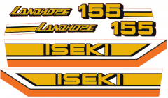 Adhesivos capo conjunto Iseki Landhope TU155