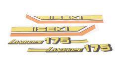 Adhesivos capo conjunto Iseki Landhope TU175