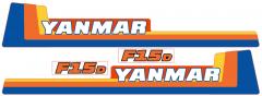 Adhesivos capo conjunto Yanmar F15