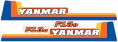 Adhesivos capo conjunto Yanmar F13