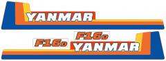 Adhesivos capo conjunto Yanmar F16
