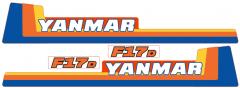 Adhesivos capo conjunto Yanmar F17
