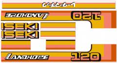 Adhesivos capo conjunto Iseki Landhope TU120