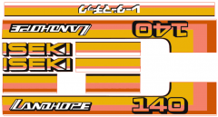 Adhesivos capo conjunto Iseki Landhope TU140