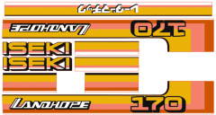 Adhesivos capo conjunto Iseki Landhope TU170