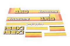 Adhesivos capo conjunto Iseki Landhope TU160