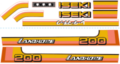 Adhesivos capo conjunto Iseki Landhope TU200