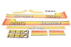 Adhesivos capo conjunto Iseki Landhope TU220