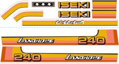 Adhesivos capo conjunto Iseki Landhope TU240