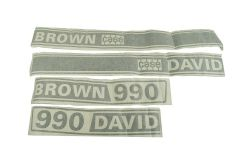 Adhesivos David Brown 990