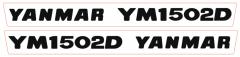Adhesivos capo conjunto Yanmar YM1502